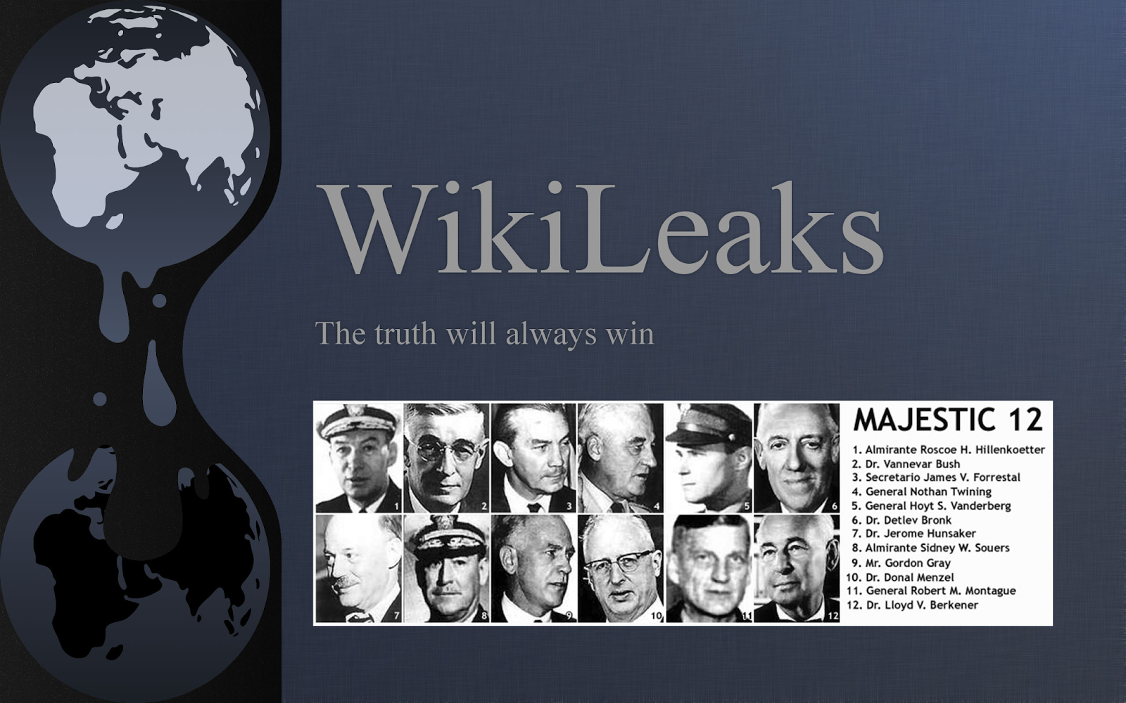 Majestic 12 Documents Are Real - Wikileaks Stratfor UFO Files