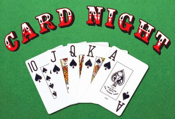 Game night cards