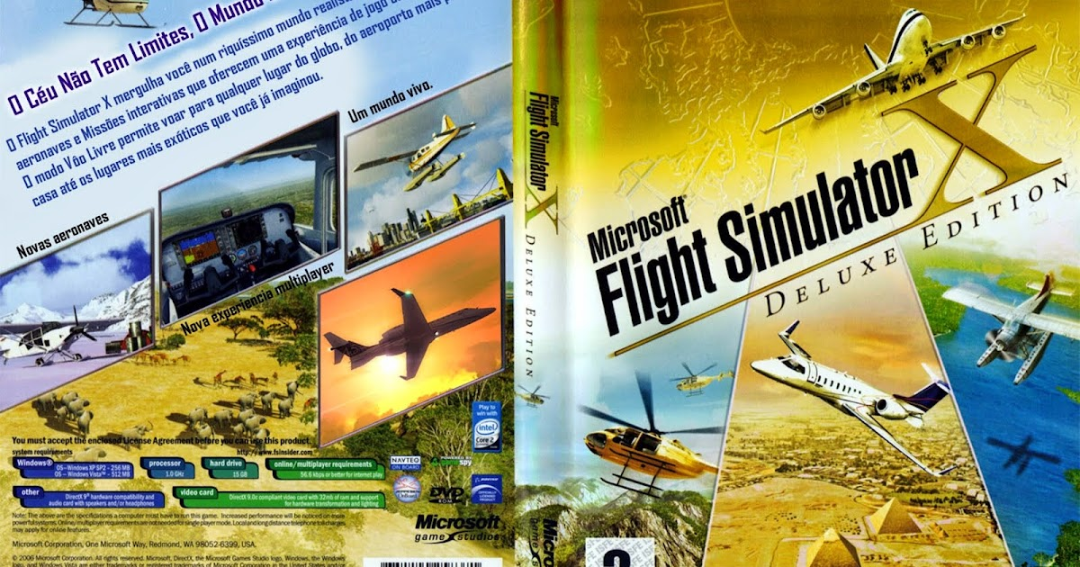 Microsoft flight simulator x deluxe edition patch service pack 1