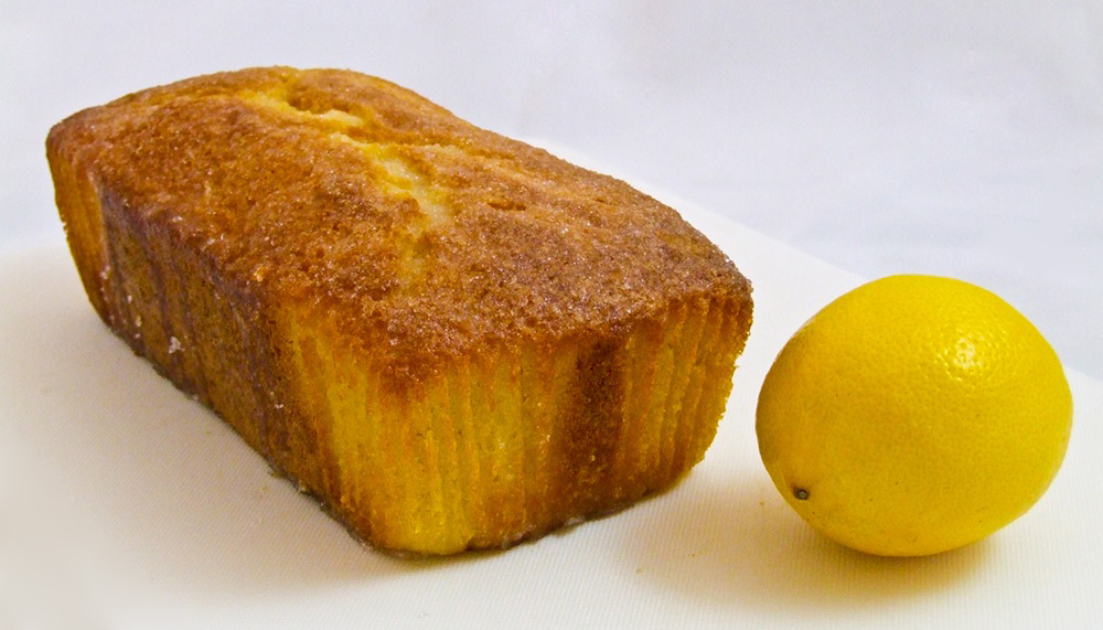 Paleo Lemon Drizzle Cake
