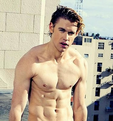 Chord Overstreet shirtless -- Yes, again! -- over-hard
