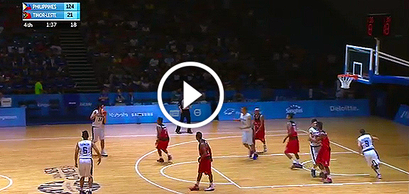 Gilas Cadets def. Timor Leste, 126-21 (VIDEO) SEA Games 2015 Men's Basketball / June 12
