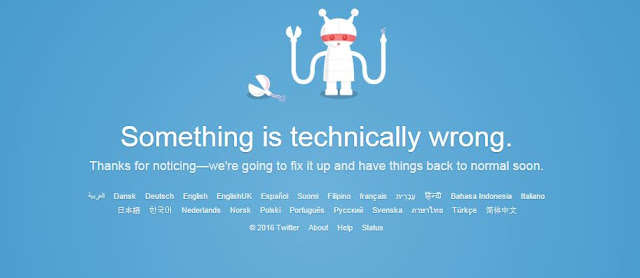 Twitter is down for many users after technical fault