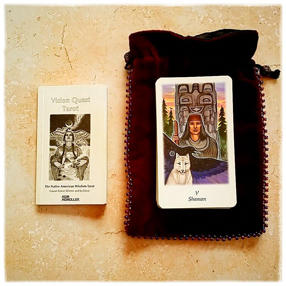 Tarot Vision Quest sagesse amérindienne ésotérisme développement personnel