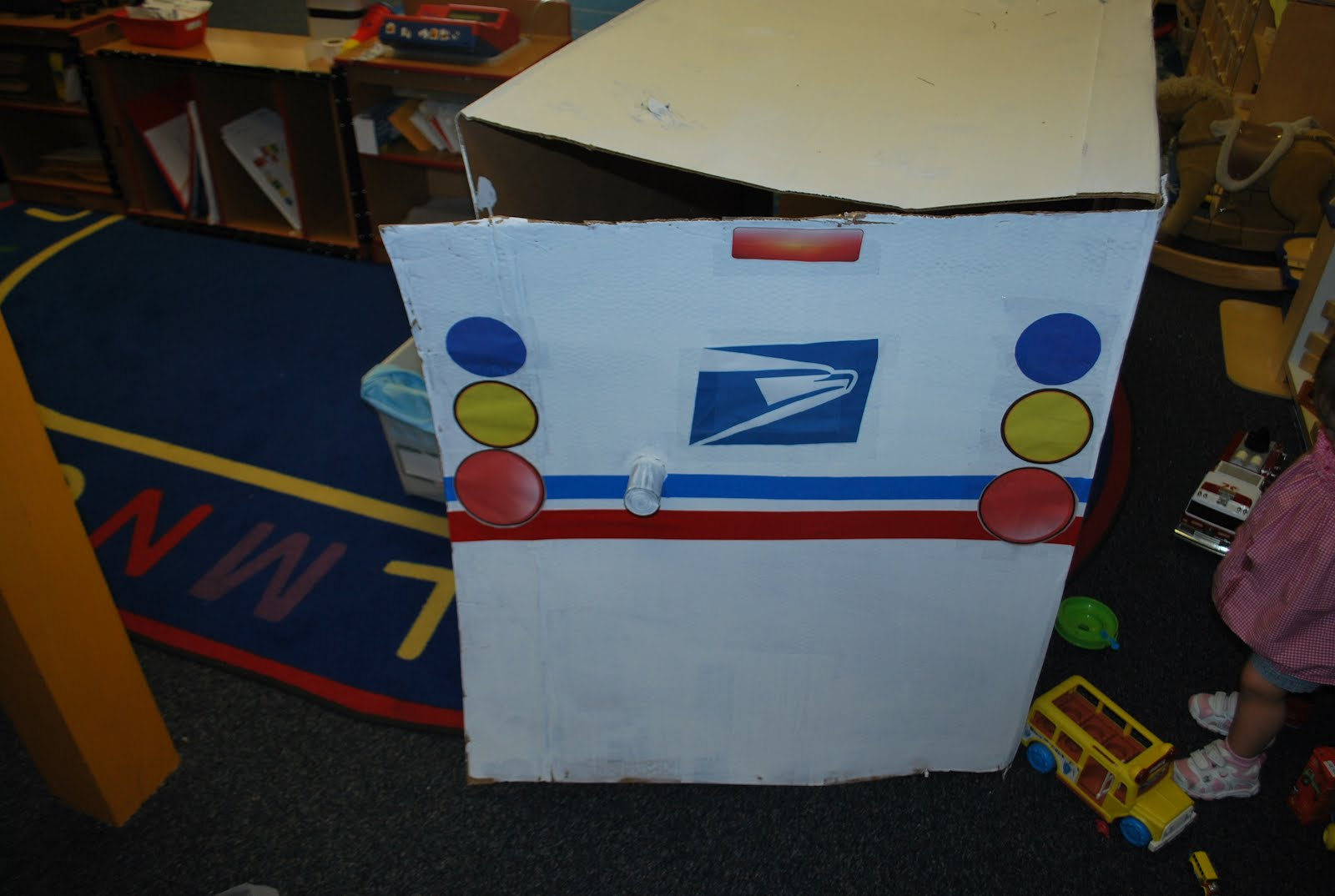 familylicious preschool projects  post office