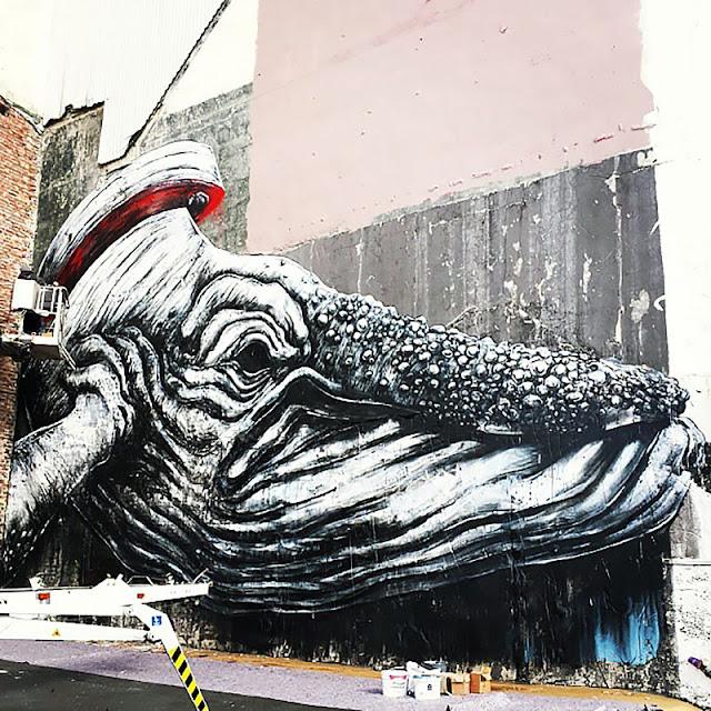 Street Art By ROA In Norway For Nuart. 3