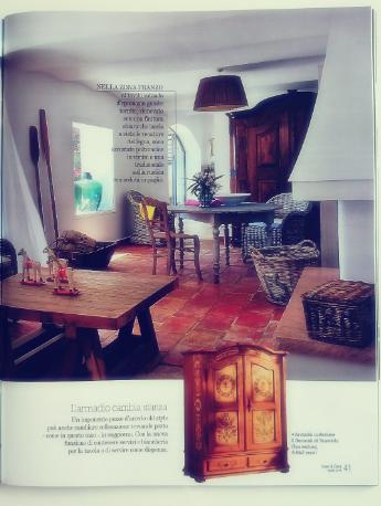 Rustykalne wnętrze w Cose di Casa