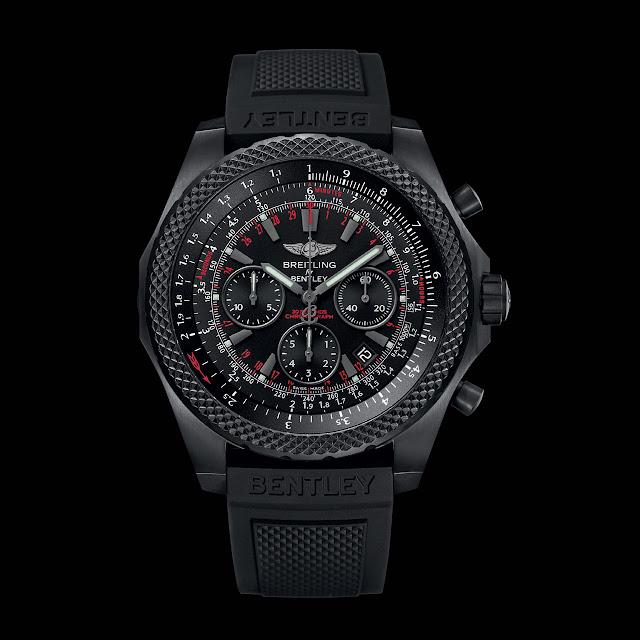 Breitling Bentley Light Body Midnight Carbon Watch