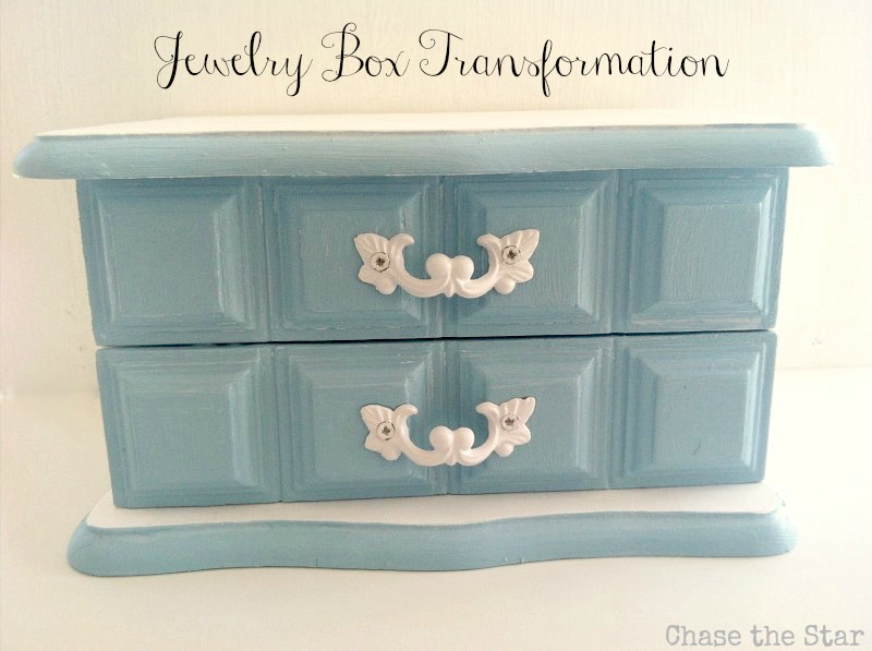 Guest post jewelry box makeover for Old jewelry box makeover