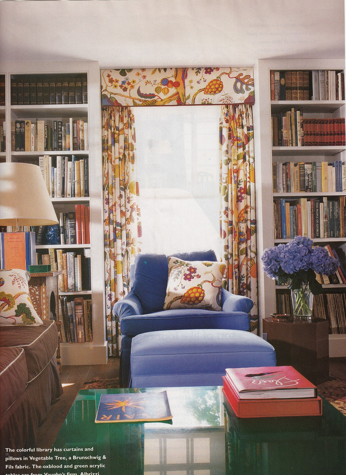Hydrangea Hill Cottage Home Libraries