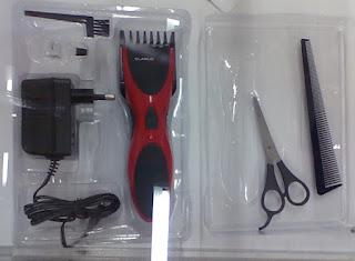 Bezprzewodowa maszynka do włosów Clarus z Biedronki