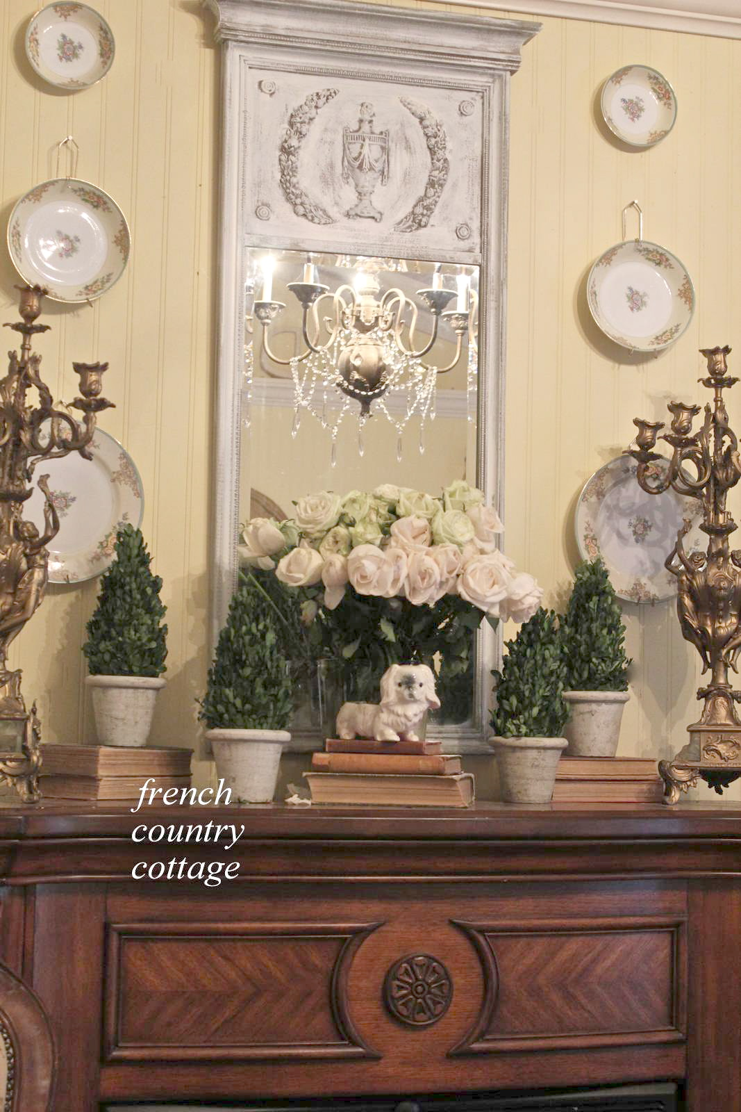 Creating vintage patina french country cottage for French country wall paint colors