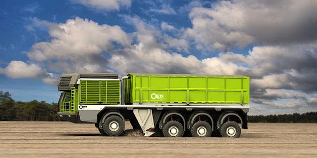trenes de carretera autocargantes el camion que se carga solo 2