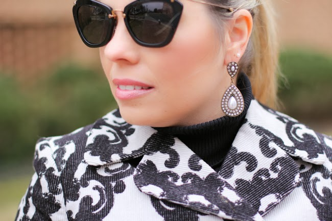 Miu Miu Black Catwalk Sunglasses