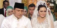 Foto Akad Nikah Bella Saphira dan Jenderal Agus Surya