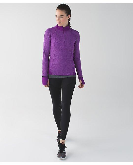 lululemon runderful-half-zip tender-violet