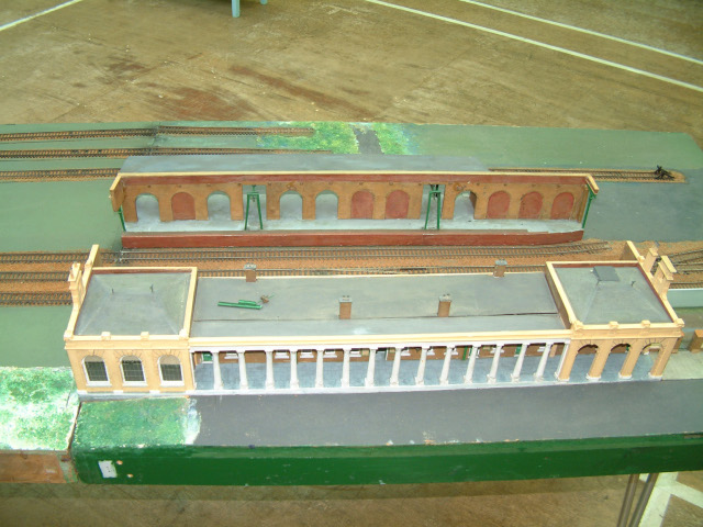 Model of Gosport station