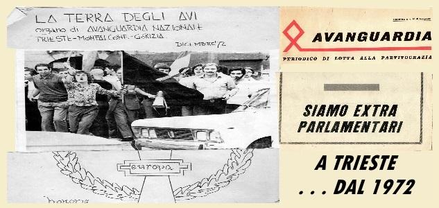 La Terra degli Avi Trieste - Informazione diretta Avanguardista