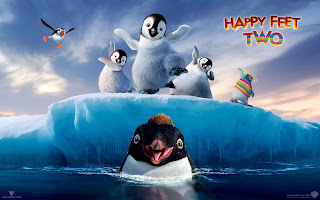 Happy Feet Two Animation 3D Movie Poster