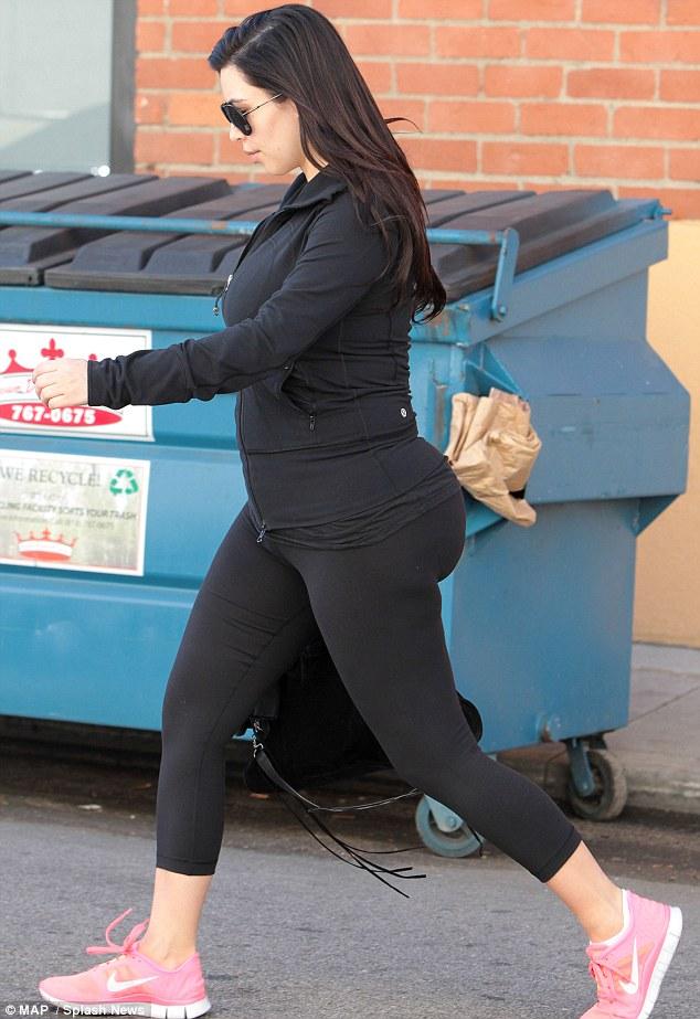 Kim Kardashian gym