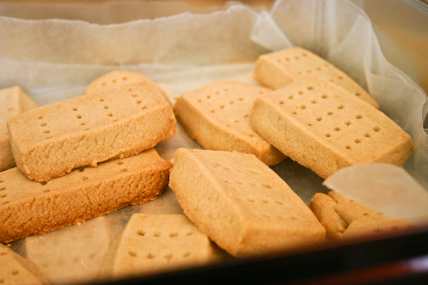 Brown Sugar Shortbread.