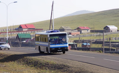 Дороги в Монголии