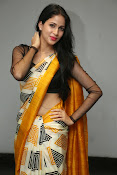 Lavanya Tripathi glam pics in saree-thumbnail-3
