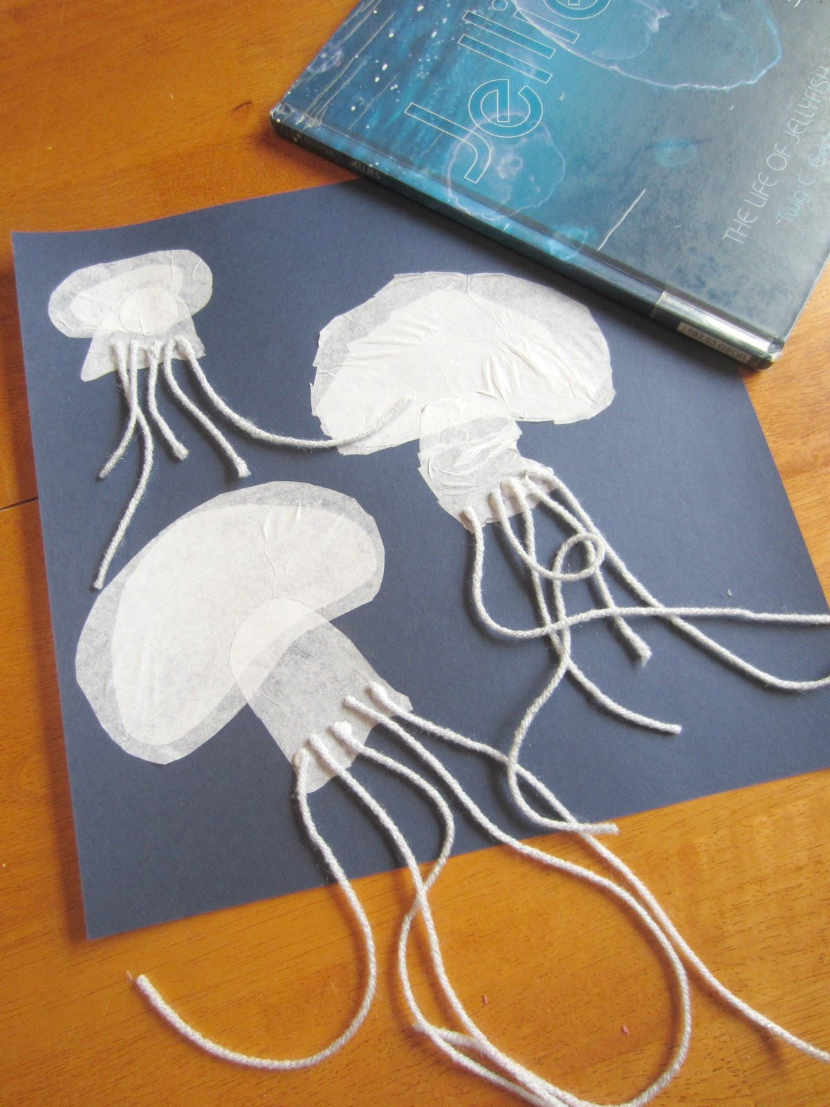 image gallery jellyfish art project