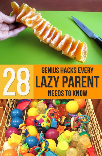 28 Genius Hacks Every Lazy Parent Needs To Know