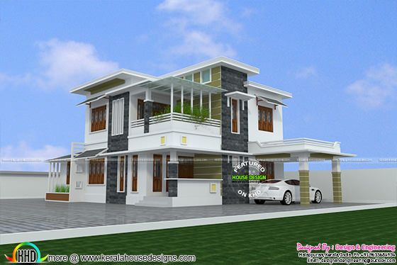 Proposed house design