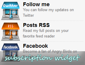 How To Add Simple Subscription Widget For Blogger