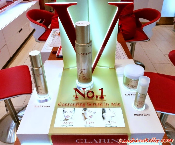 Facial Review, Total V Face Shaper Treatment, Clarins Skin Spa