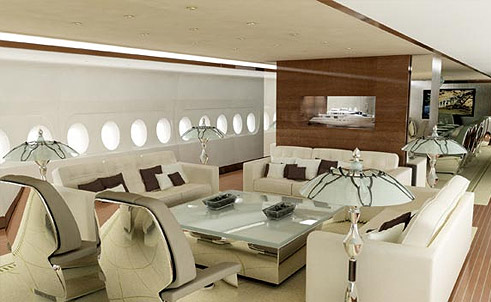 Jet airlines airbus a380 interior for Airbus a380 interior