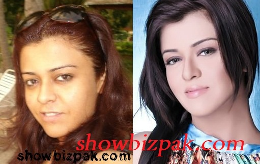 Maria Wasti without makeup