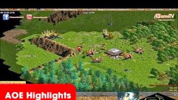 AOE Highlights - Shenlong lừa để bắt tơn cung R đầu tiên của Chim Sẻ