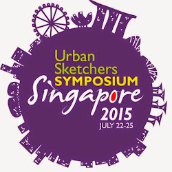 Urban Sketchers Symposium Singapore 2015