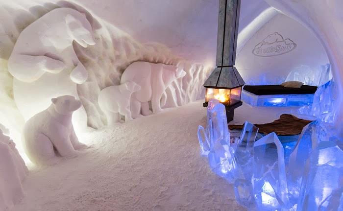 hotel de hielo - hotel de glace
