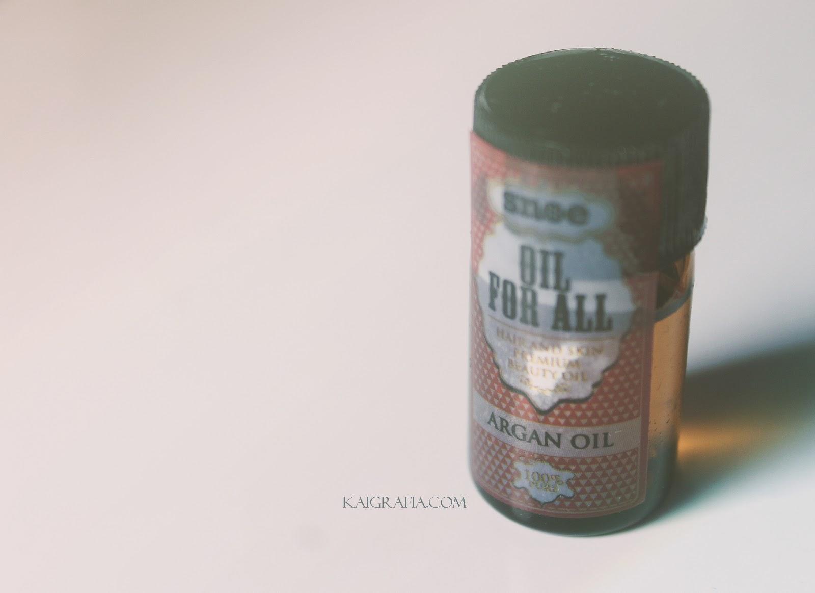 SNOE beauty Argan Oil