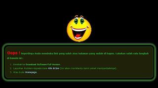 Halaman Error 404