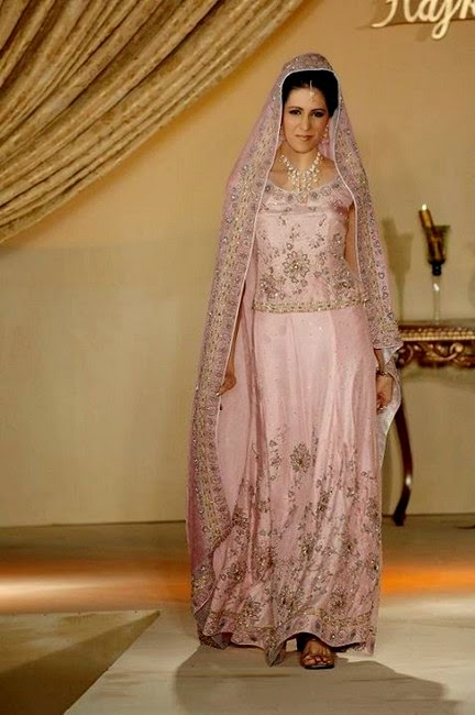 Hajra Hayat Designer Dress Collection 2014 - For Waleema