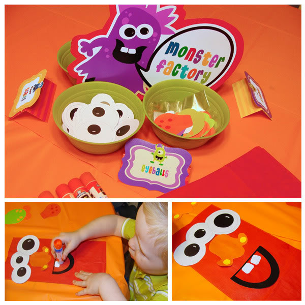 Kids Party Hub Cute Little Monster Party Ideas