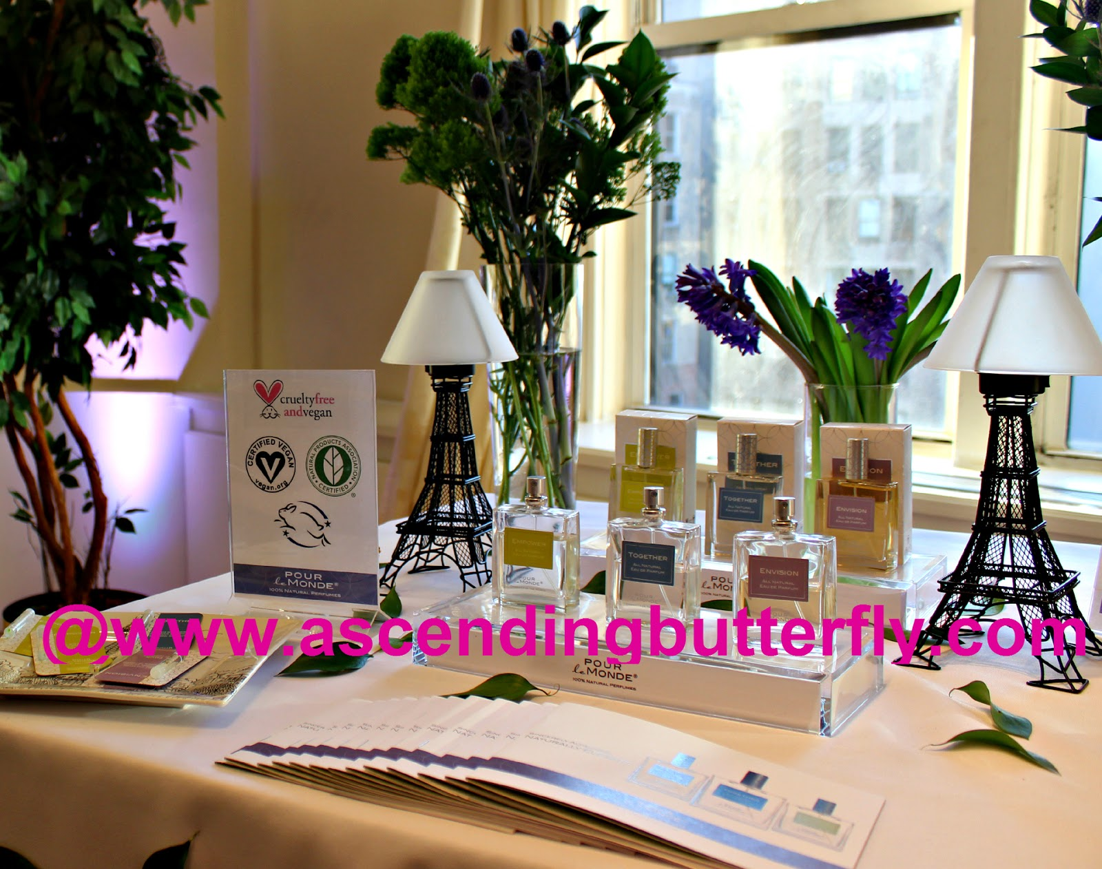 Pour le Monde Parfums at BeautyPress Spotlight Day February 2015, Certified 100% Natural Prestige Fragrance