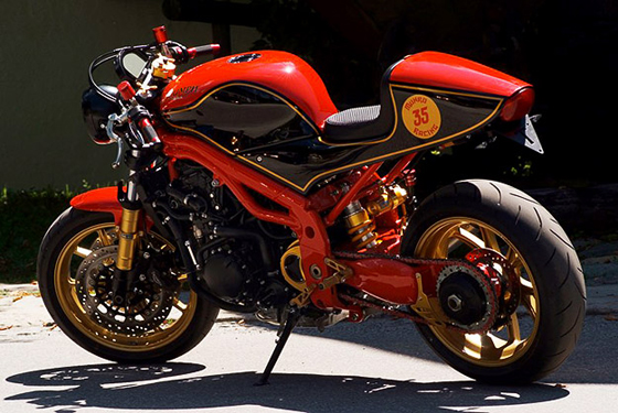 Burt Munro Tribute Bike – Triumph Speed Triple [Custom Motorcycles | Custom Bikes |  Triumph Speed Triple Custom Bike ]