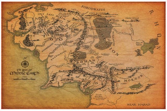 Bound:: Explore Tolkien\'s Middle Earth with Google Maps