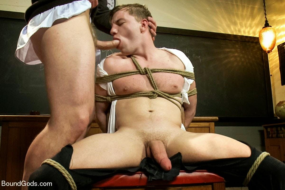 Castigo masculino gay sexual