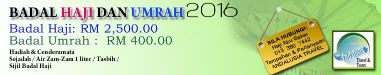 BADAL HAJI & UMRAH 2016