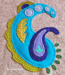 How To Applique With Wool...