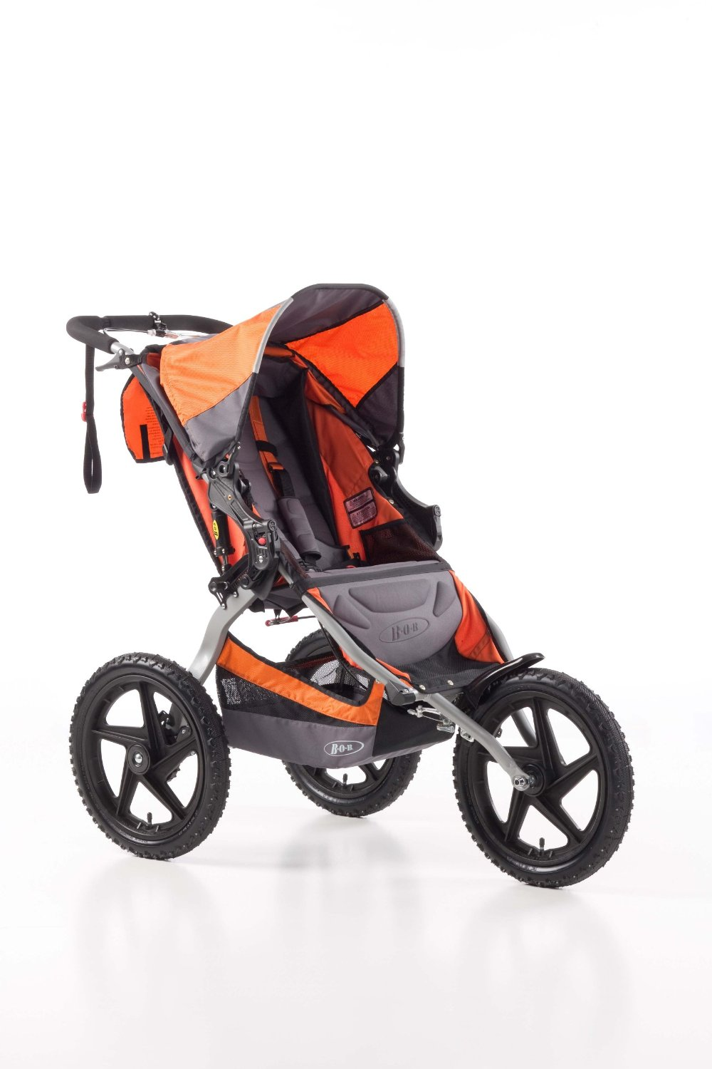 Best Bob Sport Utility Single Jogging Stroller Orange