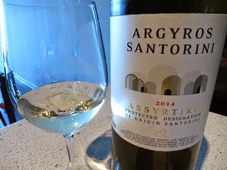 Argyros Santorini Assyrtiko 2014 from PDO Santorini, Greece (90 pts)