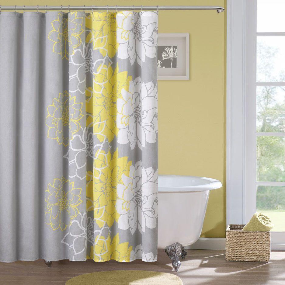 Beautiful and Elegant Bathroom Curtain Remodeling Ideas ...